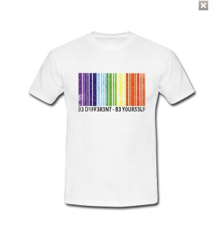be different be yourself shirt